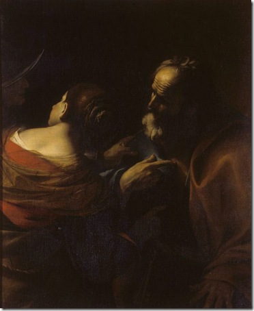 Denial of Saint Peter (Negazione di San Pietro), 1630-1699, Mattia Preti