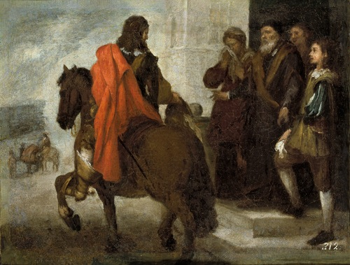 The Departure of the Prodigal Son (La despedida del hijo pródigo), c. 1660, Bartolomé Esteban Murillo