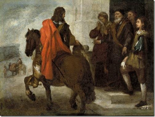 The Departure of the Prodigal Son (La despedida del hijo pródigo), c. 1660, Bartolomé Esteban Murillo