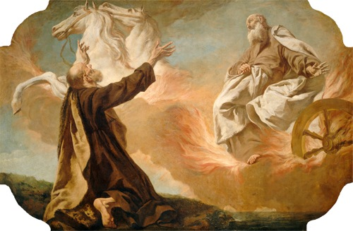 Elijah Taken Up in a Chariot of Fire, c. 1740-55 , Giuseppe Angeli