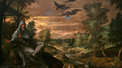 Elijah Fed by the Ravens, c. 1590, Paolo Fiammingo