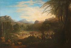 A Entrada de Cristo em Jerusalém – Samuel Colman