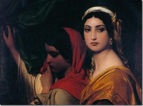 DETAIL: Herodias (Erodiade), 1843, Paul Delaroche