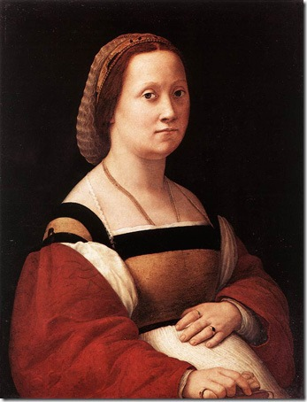 La donna gravida (The Pregnant Woman), 1505-1506, Raphael Sanzio