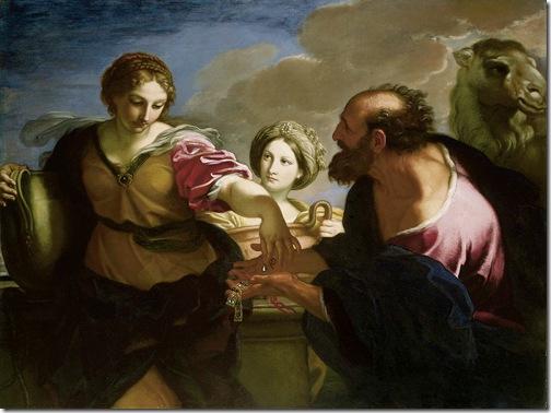 Rebecca and Eliezer at the Well, 1655-57, Carlo Maratta