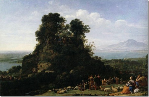 The Sermon on the Mount, c. 1656, Claude Lorrain