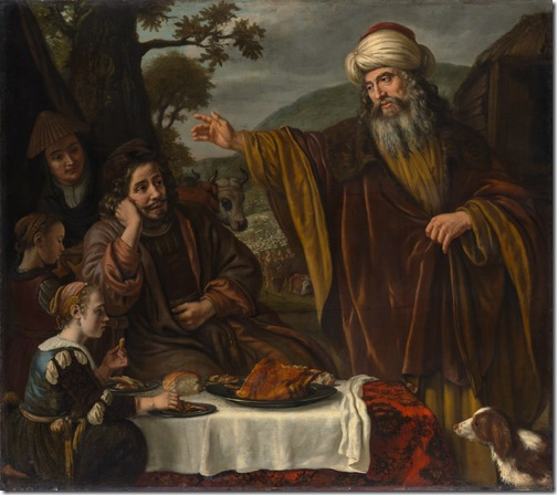 Abraham's Parting from the Family of Lot, ca. 1655–65, Jan Victors