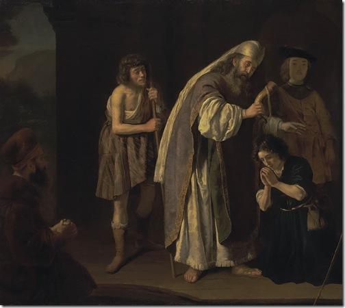 The Anointing of David (Samuel Anointing David), ca. 1645, Jan Victors