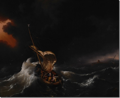Christ in the Storm on the Sea of Galilee, 1695, Ludolf Backhuysen