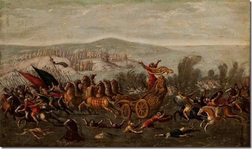 The Israelites Crossing the Red Sea (The Parting of the Red Sea / El Paso del Mar Rojo), 1630-60, circle of Juan de la Corte
