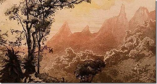 Dedo de Deus, maciço rochoso na Serra de Teresópolis, Carlos Oswald