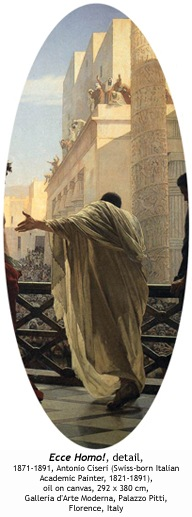 DETAIL: Ecce homo!, 1871-1891, Antonio Ciseri