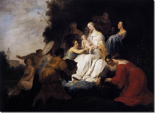 Finding of Moses, 1634, Pieter Fransz de Grebber