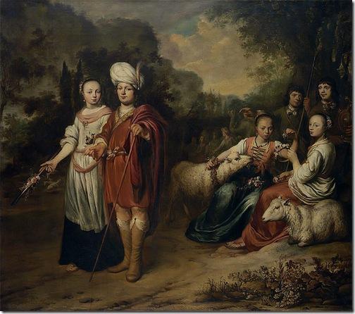 Jacob and Rachel, 1660, Gerbrand van den Eeckhout