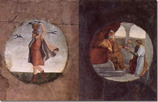 DETAILS: Joseph Interprets Dreams in Prison (Josephs Traumdeutung im Gefängnis), 1816-1817, Wilhelm von Schadow