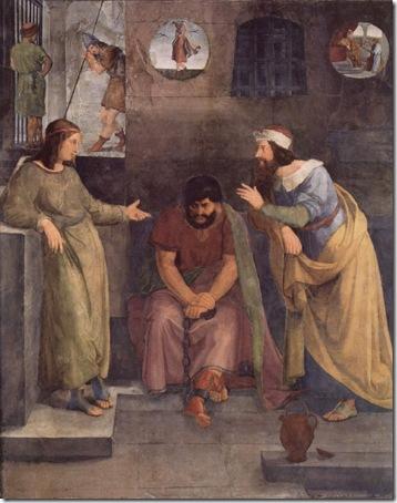 Joseph Interprets Dreams in Prison (Josephs Traumdeutung im Gefängnis), 1816-1817, Wilhelm von Schadow