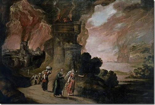 Lot and His Daughters (Lot y sus hijas), first half of 17th century, Juan de la Corte