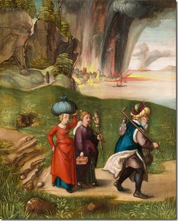 Lot and His Daughters, c. 1496/1499, Albrecht Dürer