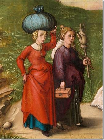 DETAIL: Lot and His Daughters, c. 1496/1499, Albrecht Dürer