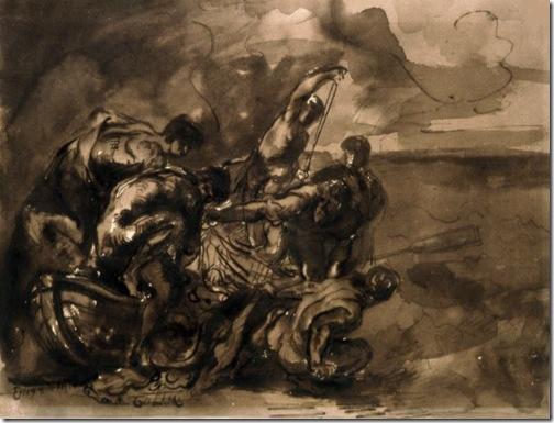 The Miraculous Draught of Fishes (La pêche miraculeuse), Eugène Delacroix