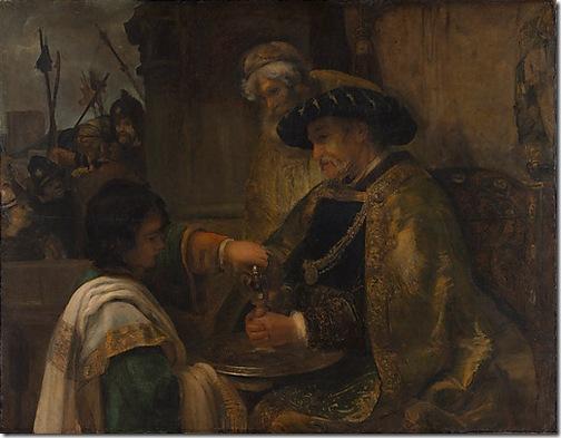 Pilate Washing His Hands, 1660-62, Style of Rembrandt van Rijn