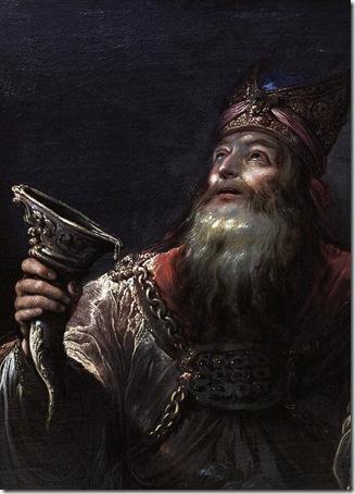 DETAIL: The Prophet Samuel (Le prophète Samuel), Second quarter 17th century, Claude Vignon
