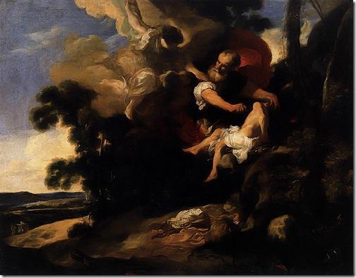 The Sacrifice of Isaac, 1624-1629, Johann Liss
