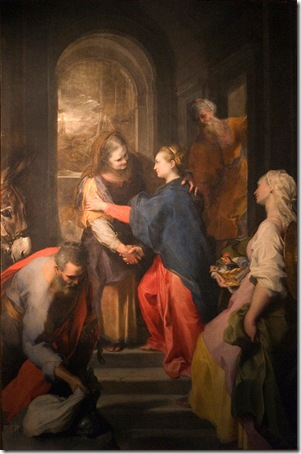 The Visitation, 1583-86, Federico Barocci