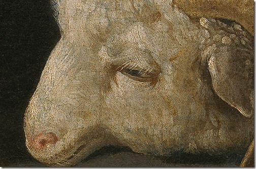 DETAIL: Agnus Dei, 1635-1640, Francisco de Zurbarán