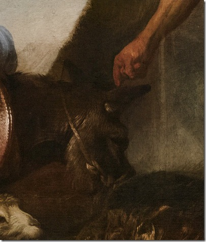 DETAILS: The Animals Entering Noah's Ark, ca. 1650, Giovanni Benedetto Castiglione
