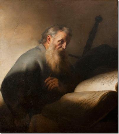 The Apostle Paul (Saint Paul), ca. 1627–29, Jan Lievens