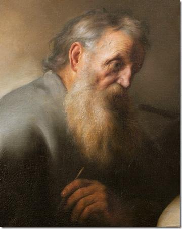 DETAIL: The Apostle Paul (Saint Paul), ca. 1627–29, Jan Lievens