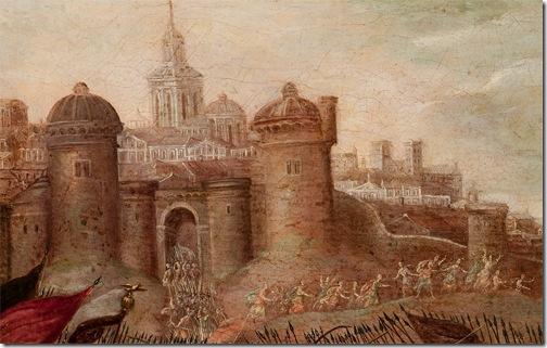 DETAIL: DETAIL: Deborah and Barak against Sisera, 1630 – 1660, Circle of Juan de la Corte