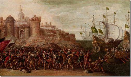Deborah and Barak against Sisera, 1630 – 1660, Circle of Juan de la Corte