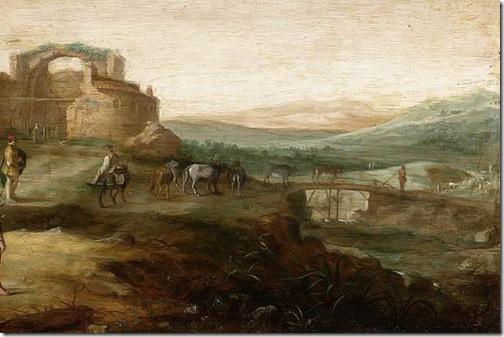 DETAIL: DETAIL: Elijah and the Widow of Zarephath (Elia en de weduwe van Sarefat), ca. 1630, Bartholomeus Breenbergh