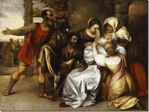 Jacob Receiving the Bloody Tunic of Joseph (Het ontvangen van de Jacob Bloody Tuniek van Joseph door), first half of 17th century, Jan Lievens