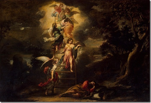 Jacob's Dream (El sueño de Jacob), ca. 1660-1665, Bartolomé Esteban Murillo
