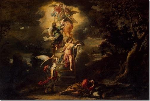 Jacob's Dream (El sueño de Jacob), ca. 1660-1665, Bartolomé Esteban Murillo