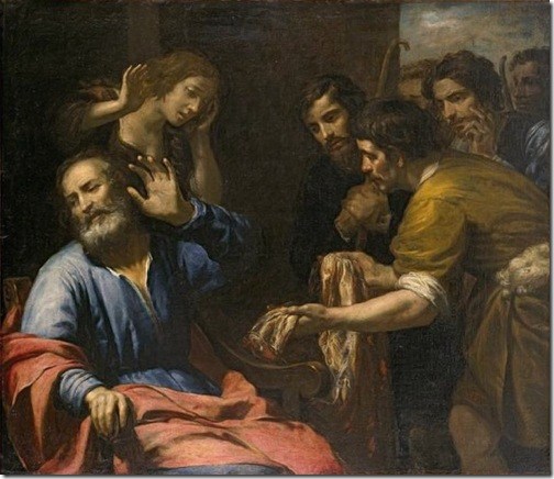 Joseph's Coat Brought to Jacob, ca. 1640, Giovanni Andrea de Ferrari