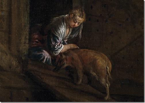DETAILS: The Animals Entering Noah' Ark (Entrada de los animales en el arca de Noé), ca. 1570, Jacopo Bassano