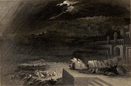 The Repentance of Nineveh, 1832, Henry Le Keux after John Martin