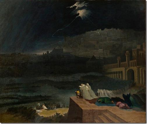 The Repentance of Nineveh (Buße der Niniviten/ La repentance de Ninive), 1829, John Martin