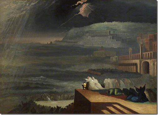 The Repentance of Nineveh (Buße der Niniviten/ La repentance de Ninive), 1829 (original), after John Martin