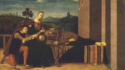 Samson and Delilah (Sansone e Dalila / Samson und Dalila), ca. 1500-1510, Francesco Morone