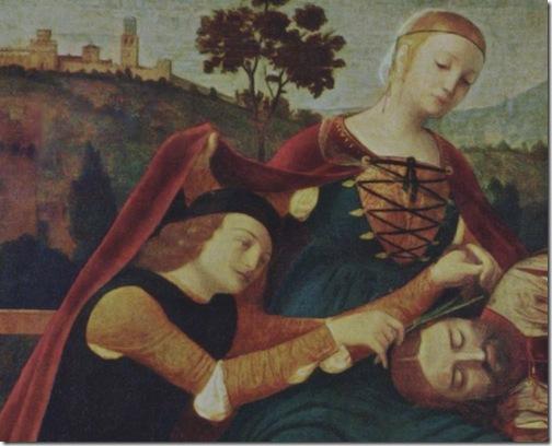 DETAIL: Samson and Delilah (Sansone e Dalila / Samson und Dalila), ca. 1500-1510, Francesco Morone