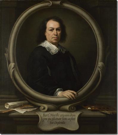 Self Portrait (Autorretrato), ca. 1670, Bartolomé Esteban Murillo