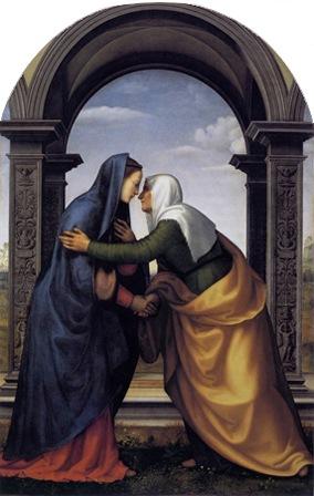 Visitation (La Visitazione), 1503, Mariotto Albertinelli