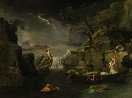 Winter or the Flood (L'Hiver ou Le Déluge), 1660-1664, Nicolas Poussin
