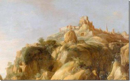 DETAIL: Abraham and Melchizedek (Abraham et Melchisedech), 1633, Bartholomeus Breenbergh