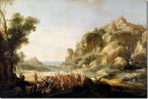 Abraham and Melchizedek (Abraham et Melchisedech), 1633, Bartholomeus Breenbergh